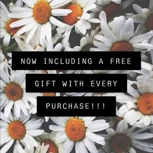 INCLUDING TWO FREE GIFTS FOR THE PRICE OF ONE